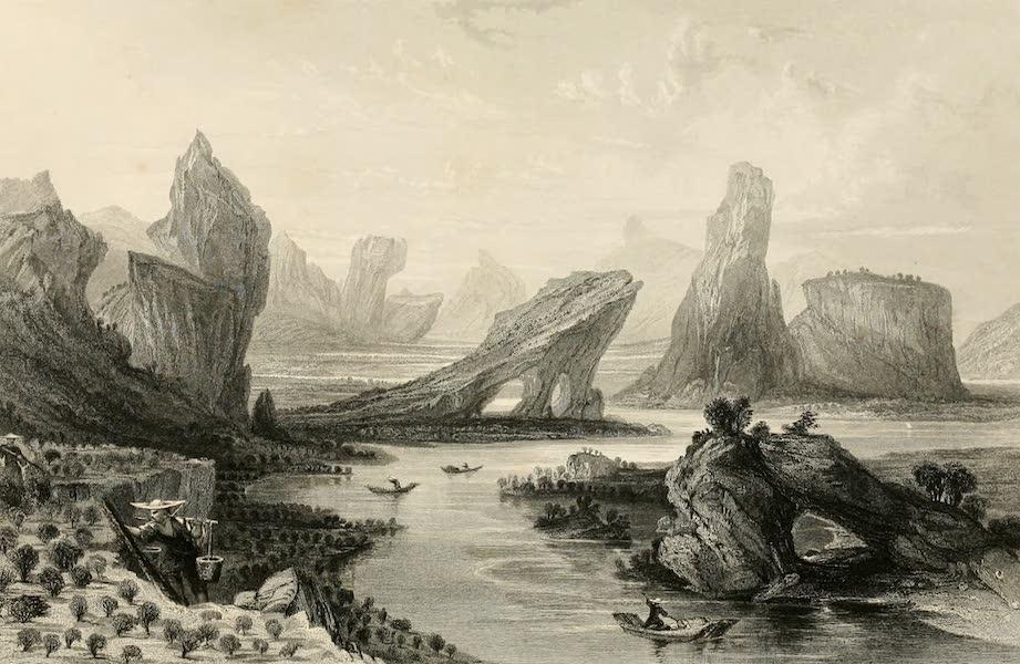 Woo-e-shan, or Bohea Hills, Fo-kien