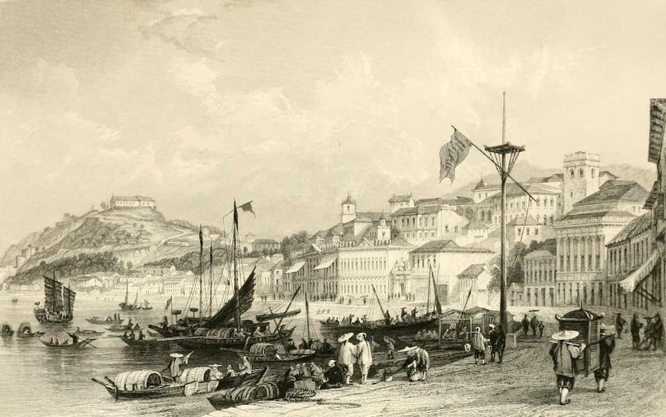 China in a Series of Views Vol. 2 - The Pria Granda, Macao (1843)