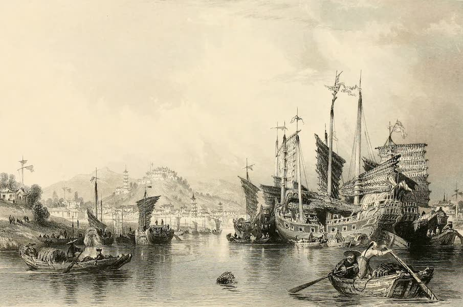 City of Ning-po, from the river