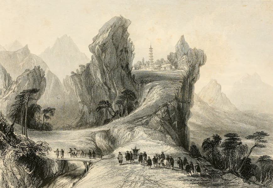 China in a Series of Views Vol. 3 - The Woo-tang Mountains (1843)