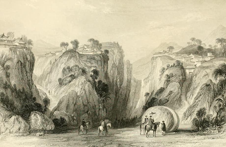 China in a Series of Views Vol. 3 - The Proof-sword Rock, Hoo-kew-shan (1843)