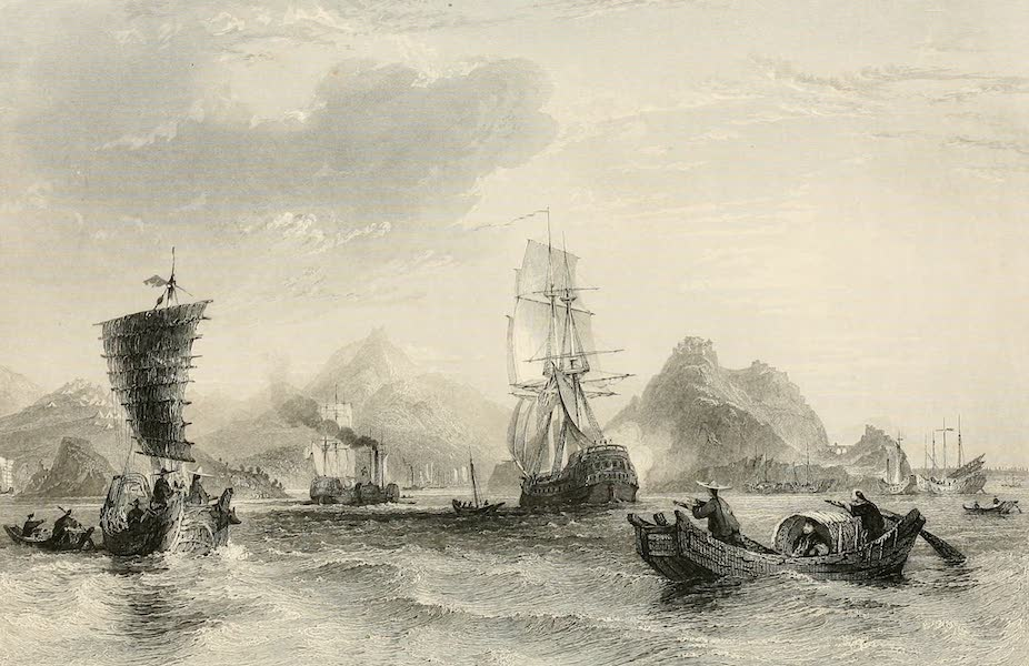 China in a Series of Views Vol. 3 - Estuary of the Ta-hea, or Ning-po River (1843)