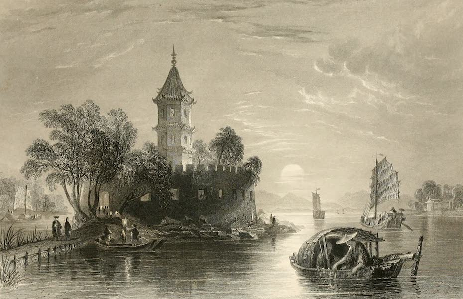 China in a Series of Views Vol. 3 - The Tai-wang-kow, or Yellow Pagoda Fort, Canton River (1843)