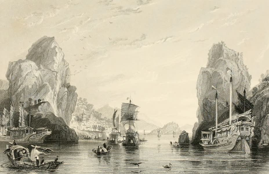 China in a Series of Views Vol. 3 - The Shih-mun, or Rock Gates (1843)