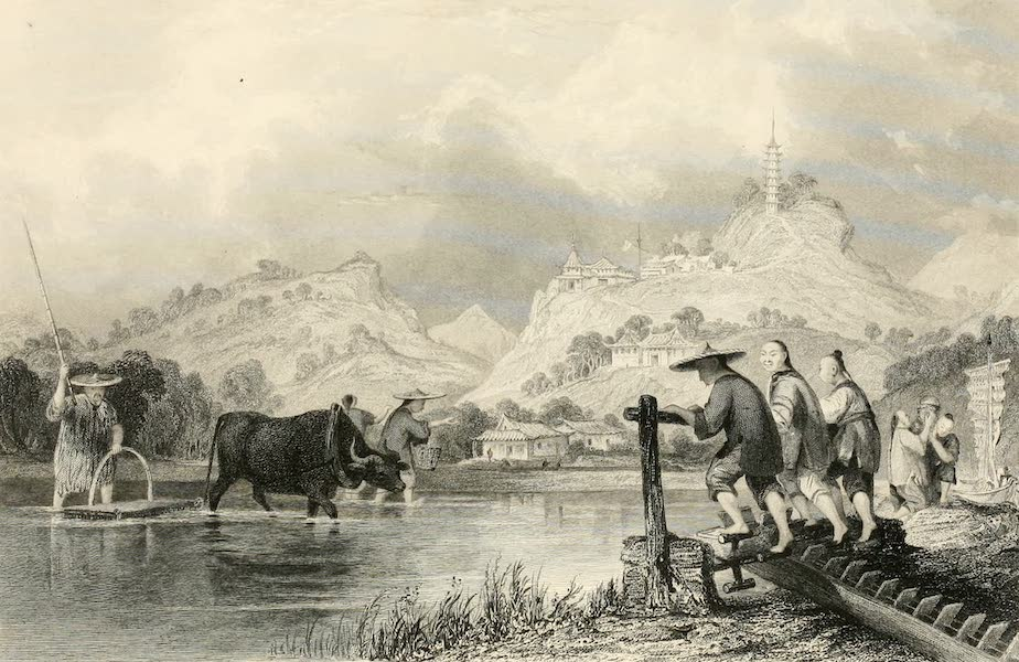 China in a Series of Views Vol. 3 - Sowing Rice, at Soo-chow-foo (1843)