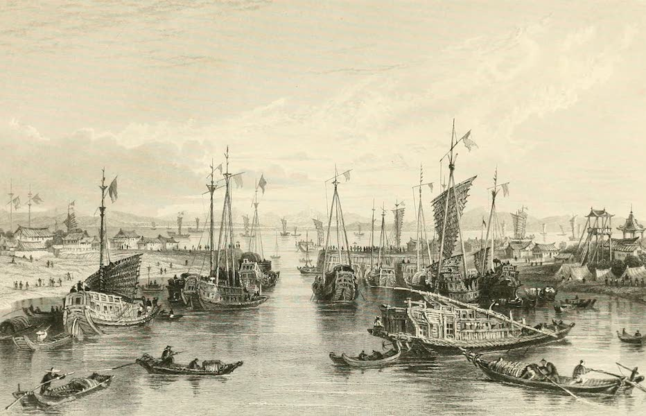 China in a Series of Views Vol. 3 - Entrance to the Hoang-ho, or Yellow River (1843)