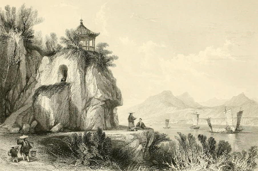 China in a Series of Views Vol. 3 - The Grotto of Camoens, Macao (1843)