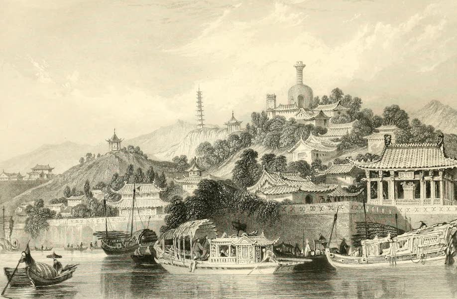 China in a Series of Views Vol. 3 - Gardens of the Imperial Palace, Peking (1843)