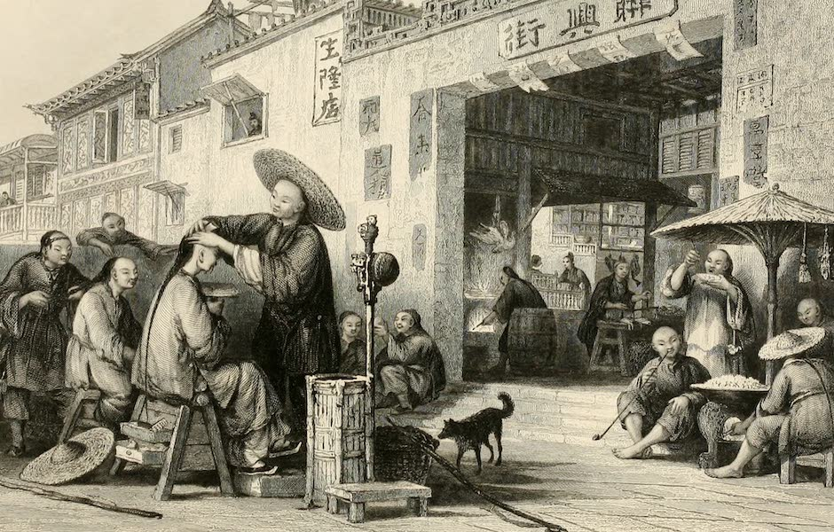 China in a Series of Views Vol. 3 - An Itinerant Barber (1843)