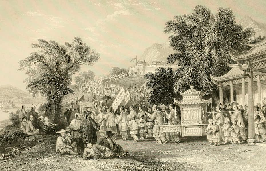China in a Series of Views Vol. 3 - A Marriage Procession (1843)