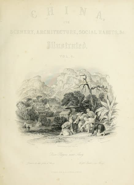 China in a Series of Views Vol. 4 - Dice-playing, near Amoy (1843)
