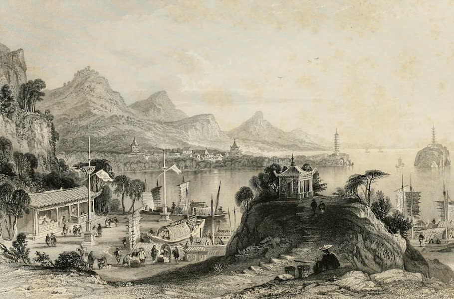 China in a Series of Views Vol. 4 - The Polo Temple, Tai-hoo (1843)