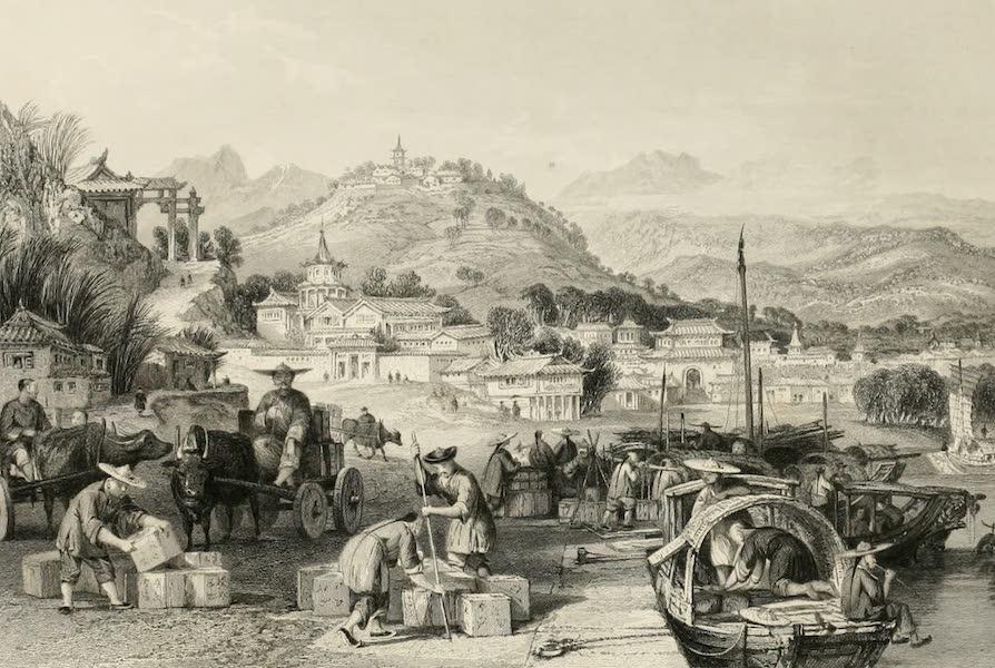 China in a Series of Views Vol. 4 - Loading Tea Junks, at Tseen-tang (1843)