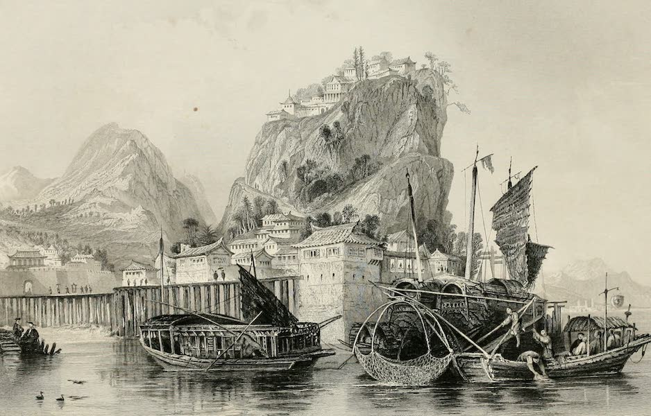 China in a Series of Views Vol. 4 - Mouth of the River Chin-keang (1843)