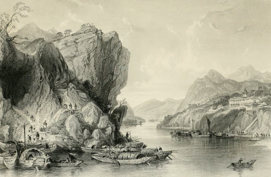 China in a Series of Views Vol. 4 - Coal-Mines, at Ying-Tih (1843)