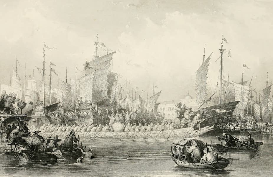 China in a Series of Views Vol. 4 - Festival of the Dragon Boat (1843)