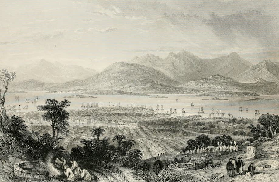 China in a Series of Views Vol. 4 - City of Amoy, from the Tombs (1843)