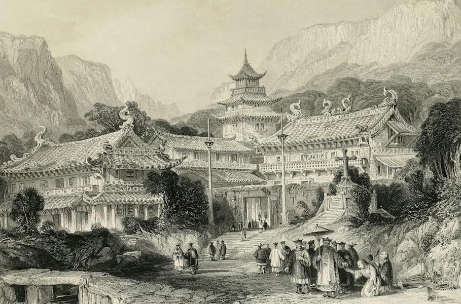 China in a Series of Views Vol. 4 - Grand Temple at Poo-too, Chusan (1843)