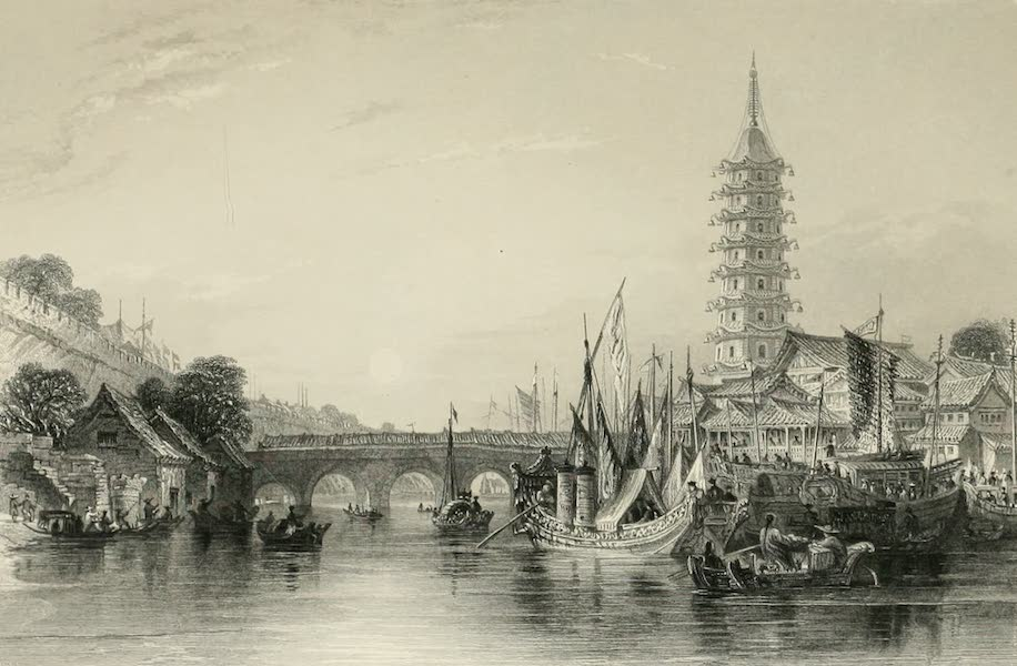 China in a Series of Views Vol. 4 - The Bridge of Nanking (1843)