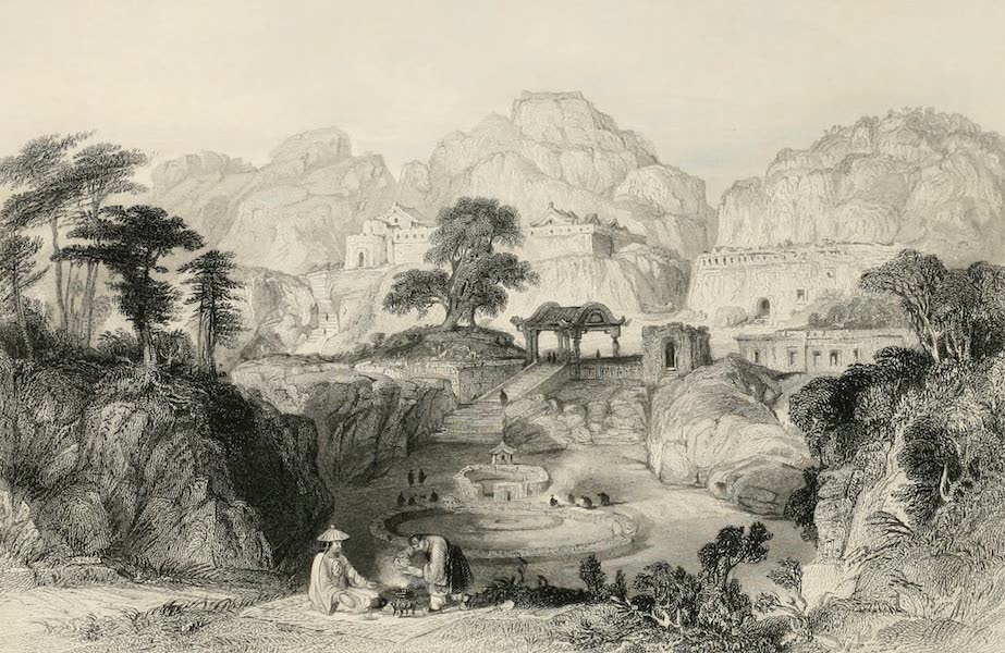 China in a Series of Views Vol. 4 - Ancient Tombs, Amoy (1843)