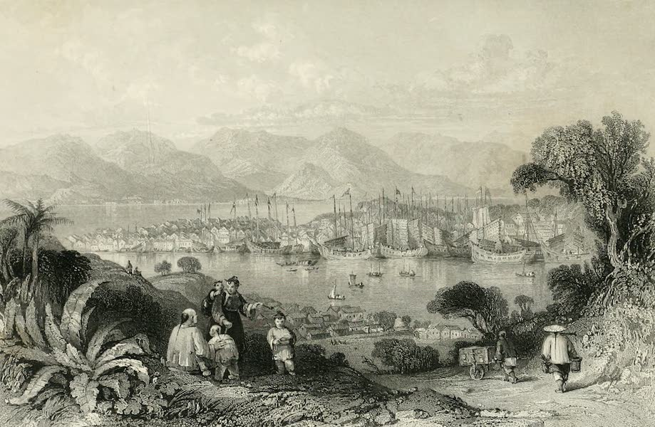 China in a Series of Views Vol. 4 - Amoy, from Ko-long-soo  (1843)