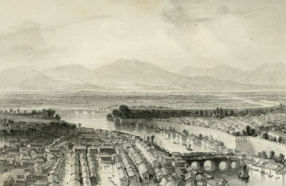 China in a Series of Views Vol. 4 - Nanking, from the Porcelain Tower (1843)