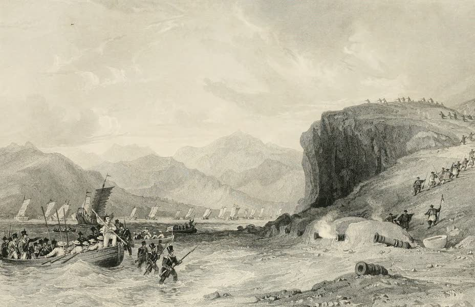 China in a Series of Views Vol. 4 - Entrance to the Chin-chew River  (1843)