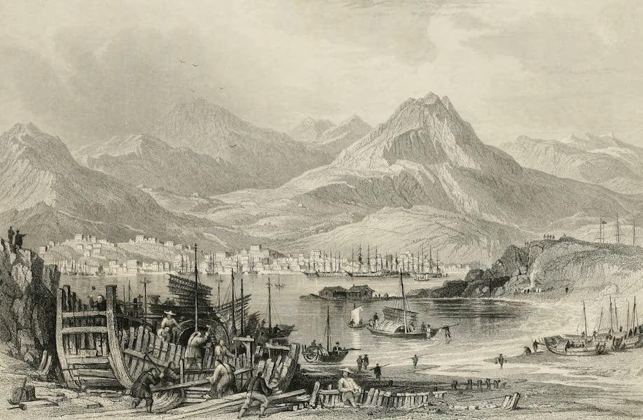 China in a Series of Views Vol. 4 - Hong-kong, from Kow-loon (1843)