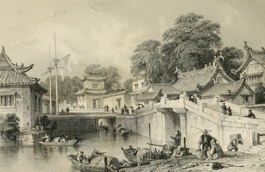 China in a Series of Views Vol. 4 - Ancient Bridge, Chapoo (1843)