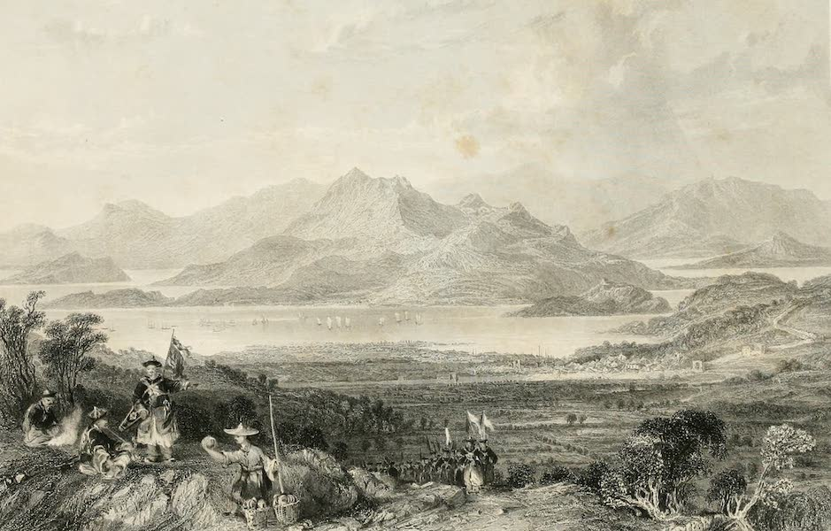 China in a Series of Views Vol. 4 - The Valley of Chusan (1843)