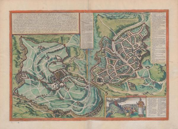 Civitates Orbis Terrarum Vol. 1 - Hierosolyma Or Jerusalem (1572)