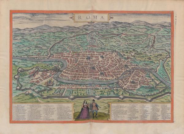 Civitates Orbis Terrarum Vol. 1 - Roma (1572)