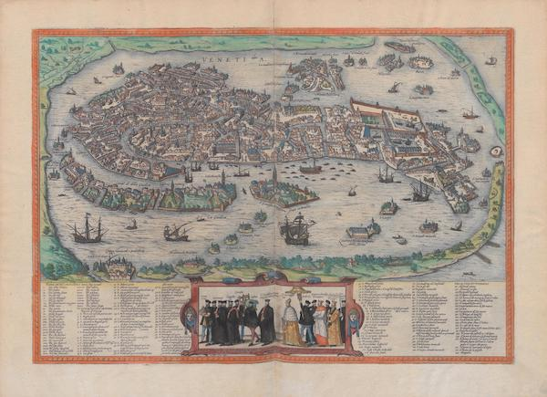 Civitates Orbis Terrarum Vol. 1 - Venetia (1572)
