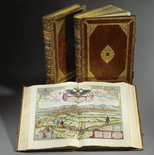 Civitates Orbis Terrarum Vol. 1 - Book Display (1572)