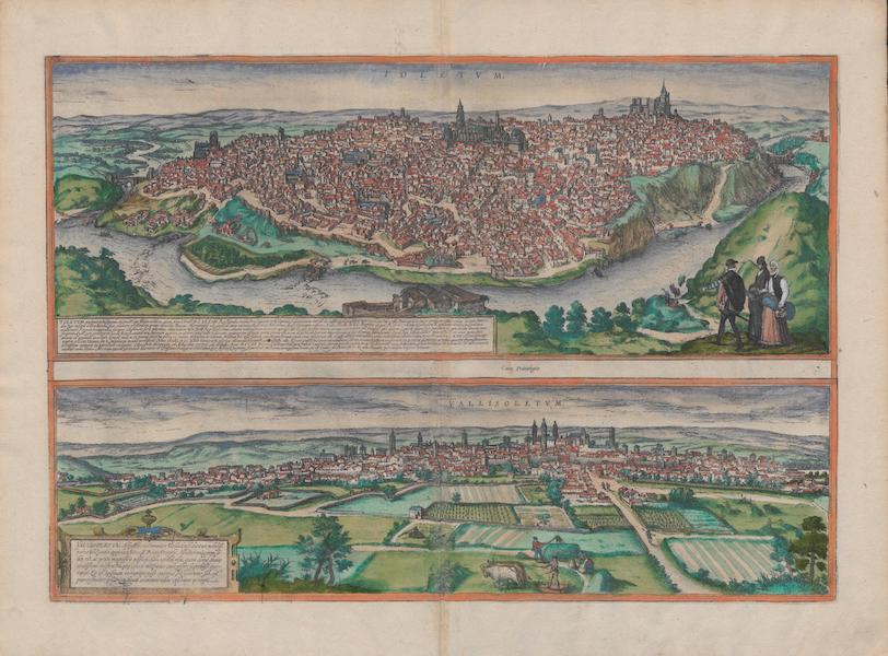 Civitates Orbis Terrarum Vol. 1 - Toletvm, Vallisoletvm (1572)