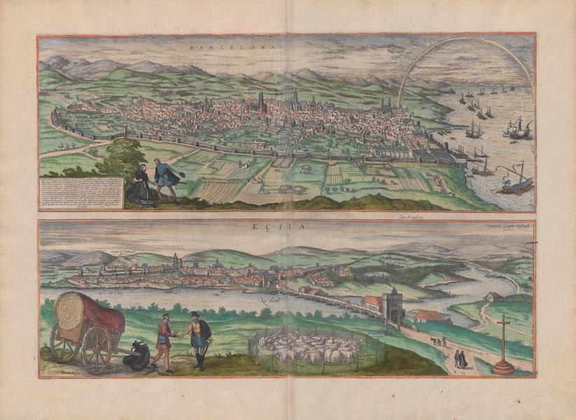 Civitates Orbis Terrarum Vol. 1 - Barcelona et Ectia (1572)