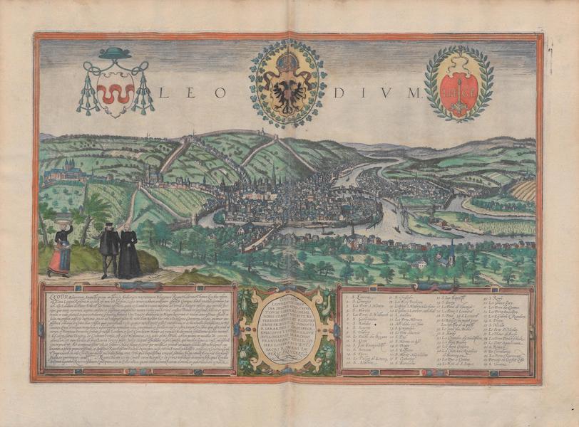 Civitates Orbis Terrarum Vol. 1 - Leodivm, Liege (1572)