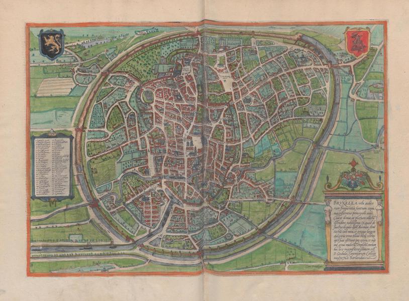 Civitates Orbis Terrarum Vol. 1 - Brvxella (1572)