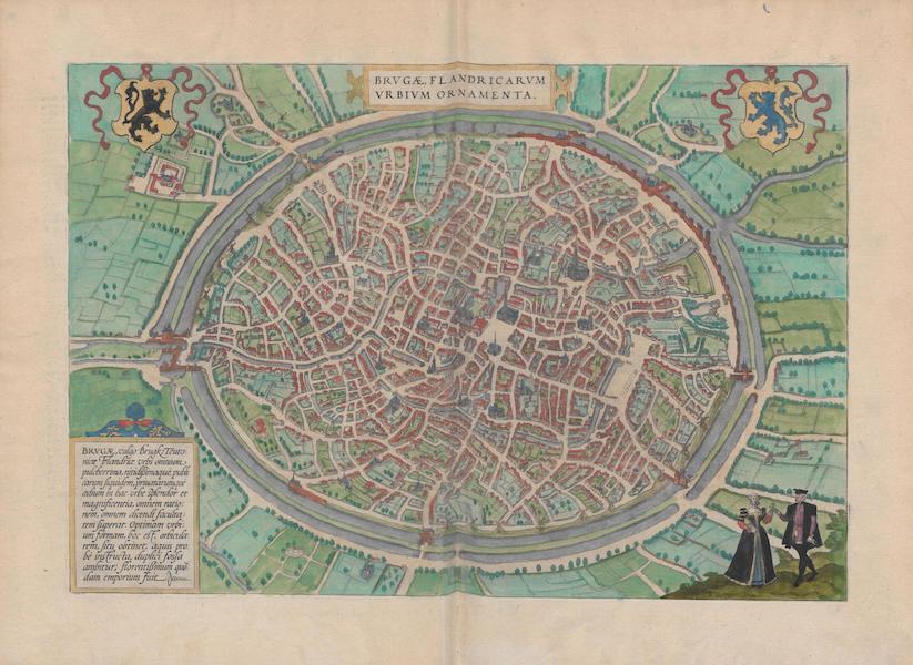 Civitates Orbis Terrarum Vol. 1 - Brvgae Flandricarvm Vrbivm Ornamenta (1572)