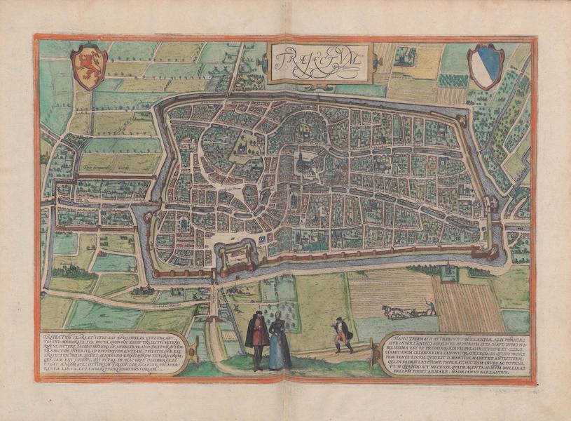 Civitates Orbis Terrarum Vol. 1 - Traejectvm (1572)