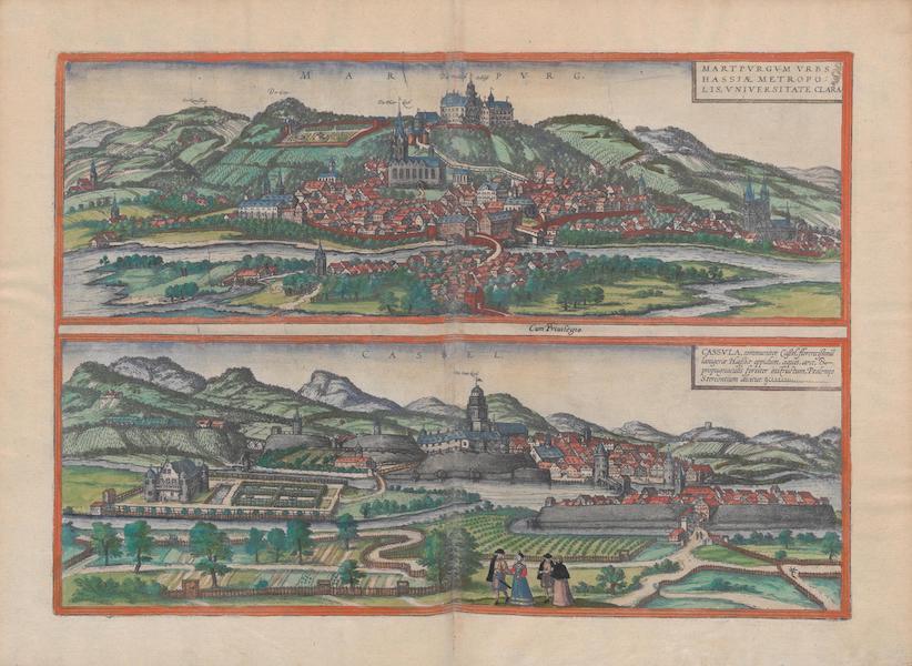 Civitates Orbis Terrarum Vol. 1 - Marpvrg Cassel (1572)