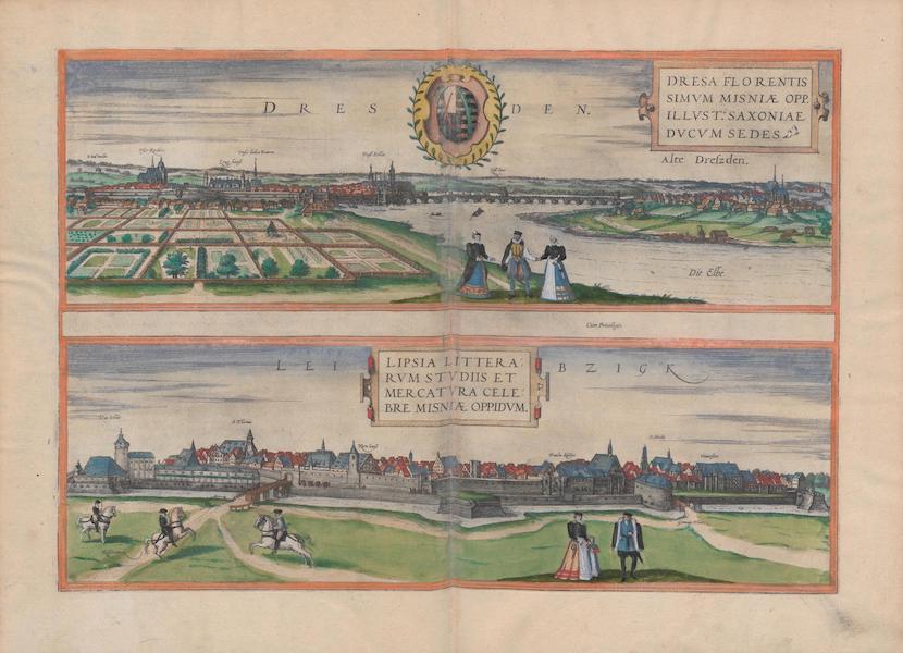Civitates Orbis Terrarum Vol. 1 - Dresden And Leibzigk (1572)