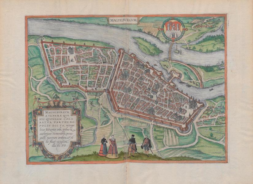 Civitates Orbis Terrarum Vol. 1 - Magdebvrgvm (1572)