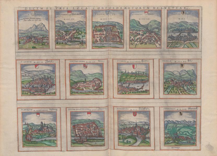 Civitates Orbis Terrarum Vol. 1 - Decem et Tria (1572)