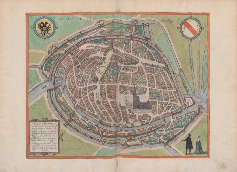Civitates Orbis Terrarum Vol. 1 - Argentoratvm Straszburg (1572)
