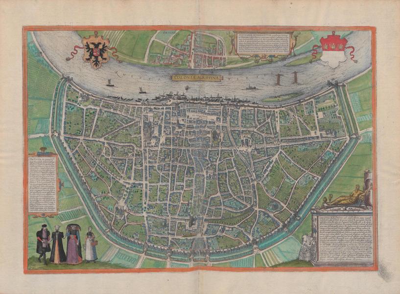 Civitates Orbis Terrarum Vol. 1 - Colonia Agrippina (1572)