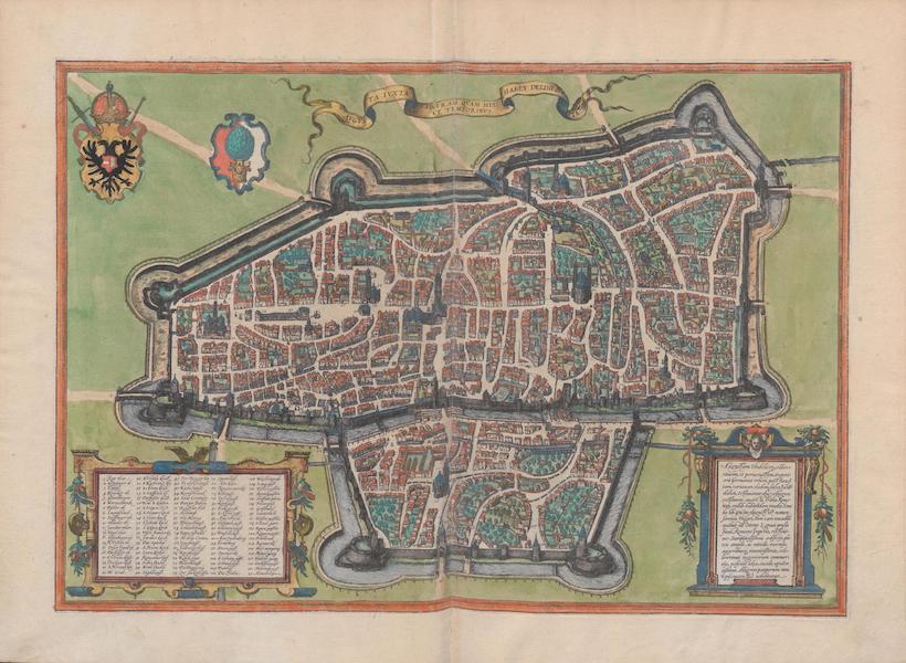 Civitates Orbis Terrarum Vol. 1 - Avguvsta Ivxta Figvram Qvam Hisce Temporibvs Habet Delineata (1572)