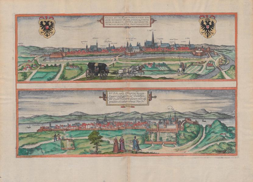Civitates Orbis Terrarum Vol. 1 - Vienna Buda Vulgo Ofen (1572)