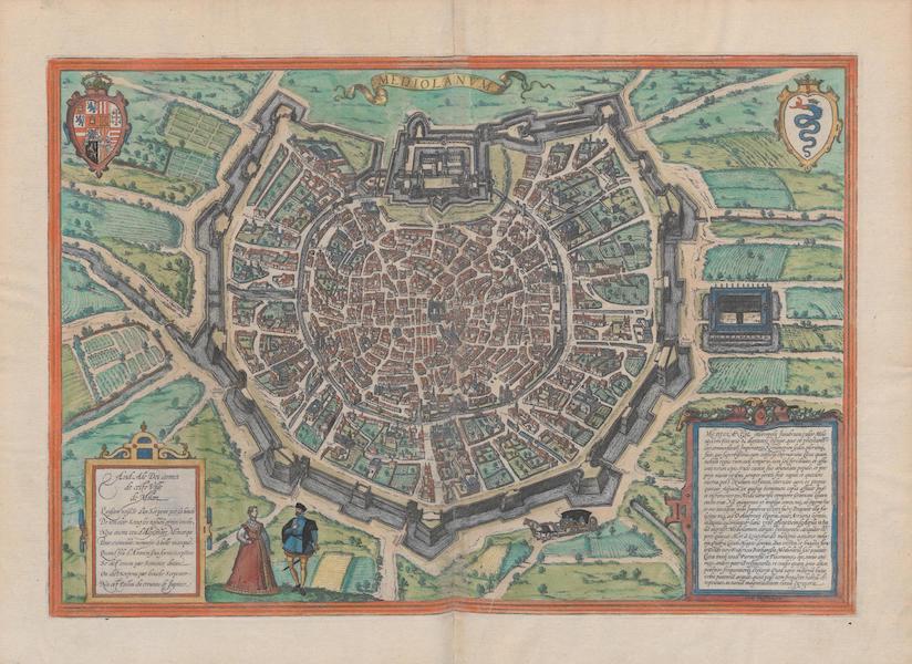 Civitates Orbis Terrarum Vol. 1 - Mediolanvm (1572)