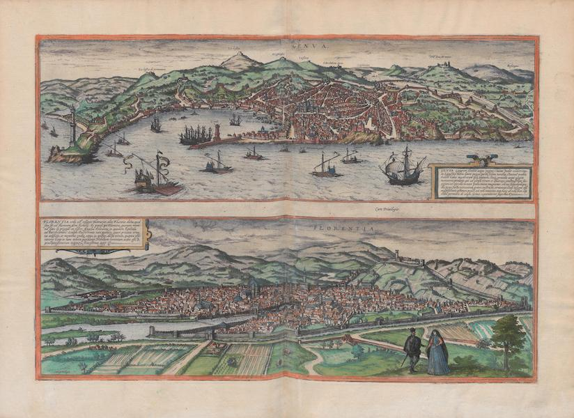 Civitates Orbis Terrarum Vol. 1 - Genva And Florentia (1572)